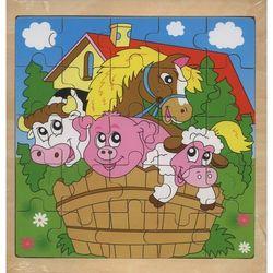 Układanka drewniana Farma 25