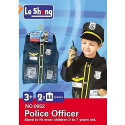 Strój karnawałowy policjant