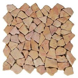 Mozaika marmurowa Garth na siatce różowa 1m2