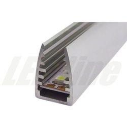 PROFIL aluminiowy na szybę 6 mm do TAŚMY LED 2 metry