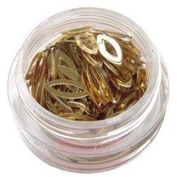 Akrylowe kocie oczka- jasne złoto nr 05