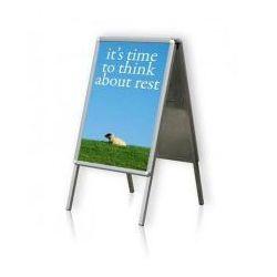 Tablica plakatowa na stojaku typu A 2x3 A2