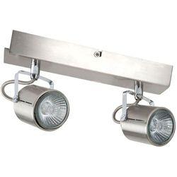 LOFT - Listwa z 2 lampami punktowymi Aluminiowa