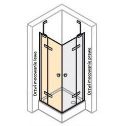 Drzwi do ścianki boczneJ LEWE Huppe Enjoy ELEGANCE 120 cm,montaż na brodziku, chrom eloxal, szkło przeźroczyste z powłoką Anti-Plague 3T0105.092.322