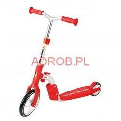 Hulajnoga rowerek biegowy 2 in 1 Motion CZERWONA #G1