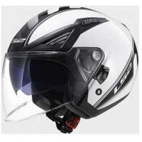 KASK LS2 OF586 BISHOP ATOM WHITE BLACK - BLENDA!