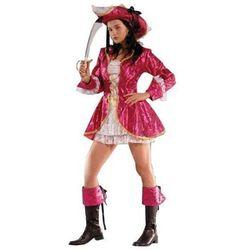 Strój dla dorosłych - Różowa Piratka