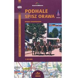 Podhale Spisz Orawa Mapa turystyczna 1:50 000 (opr. broszurowa)