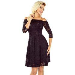 a7ee80312a suknie sukienki rozkloszowana mini sukienka koronka szyfon k007 ...