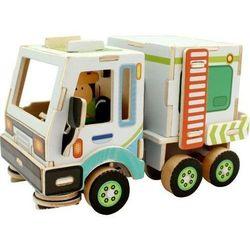 Puzzle drewniane Auto do czyszczenia