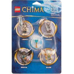 Minifigurki LEGO Chima 850779 (4 sztuki)