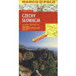 Czechy, Słowacja 1:300 000 (opr. broszurowa)
