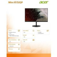 LCD Acer xf252qpbmiiprx
