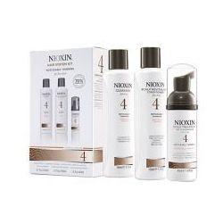 Nioxin 4 Trialkit 150+150+40ml, Zestaw anty wypadanie włosów