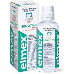 Elmex Płyn do płukania jamy ustnej Sensitive 400 ml