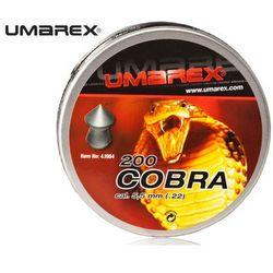 Śrut 5,5 mm UMAREX COBRA szpic moletowany 200szt