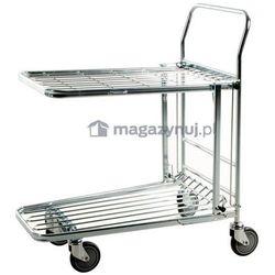 Wózek sklepowy. Wym: 860x530x1010mm