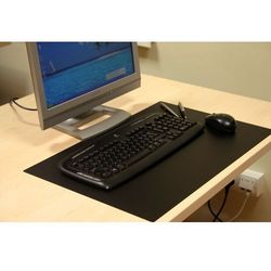 Podkładka DESKPAD na biurko lub stół 40x60cm kolor czarny, gr. 1,7mm