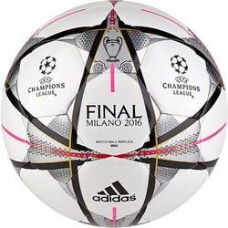 17612b023 adidas Performance FINALE MILANO MINI Piłka do piłki nożnej  white/black/silver metallic