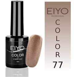 Lakier hybrydowy EIYO Secret - kolor nr 77 - Złoto Brokat - 15 ml Lakiery hybrydowe