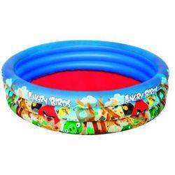 Bestway, Angry Birds, basen dmuchany, 152x30 cm Darmowa dostawa do sklepów SMYK