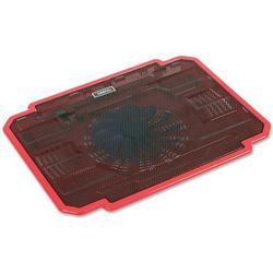Podstawka chłodząca OMEGA do laptopa 17 cali Ice Box (41907) Czerwony