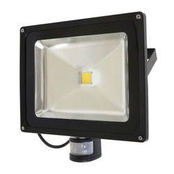 Lampa zew. LED ART,50W,IP65, AC80-265V,black, 4000K-white, sensor PROJEKTOR 50W LED SENSOR BIAŁY 3000lm ART