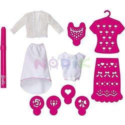 Barbie Studio wzornictwa zestaw uzupełniający Mattel (różowy)
