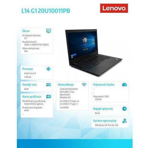 Lenovo ThinkPad 20U10011PB