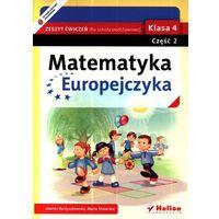 Matematyka Europejczyka 4 Zeszyt ćwiczeń część 2 (opr. miękka)