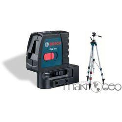 GLL 2-15 Professional + statyw BT250 laser krzyżowy Bosch