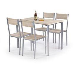 Zestaw HALMAR RALPH stół + 4 krzesła