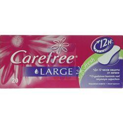Carefree Wkładki higieniczne large fresh 20 szt.