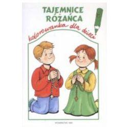 Tajemnice różańca - kolorowanka dla dzieci