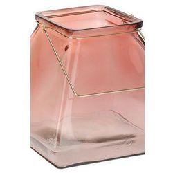 Lampion Glass pomarańczowy