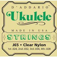 D'Addario J65 struny do ukulele