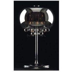 Stojąca LAMPA stołowa MOONLIGHT T0076-03D Maxlight kryształkowa LAMPKA halogenowa crystal chrom
