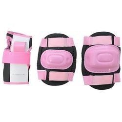 Ochraniacze na rolki dla dzieci Pink - Różowy