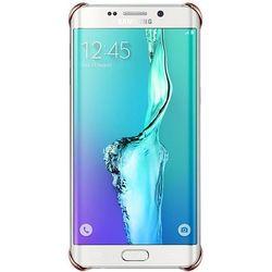 Nakładka SAMSUNG Glitter Cover do Galaxy S6 EDGE + Różowy
