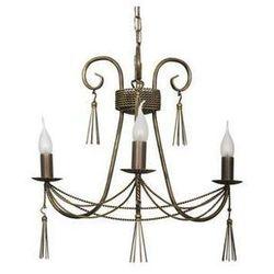 Żyrandol LAMPA wisząca TWIST 2764 Nowodvorski świecznikowy ZWIS metalowy IP20 maria teresa patyna