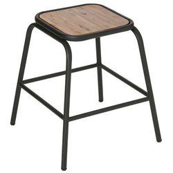 Taboret Z Metalowymi Nogami Stołek Drewniany Taboret Skandynawski Taboret Do Przedpokoju Taborety Kuchenne Krzesła Kuchenne