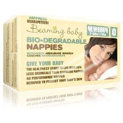 BEAMING BABY Ekologiczne pieluszki jednorazowe - New Born 1 - 3 kg