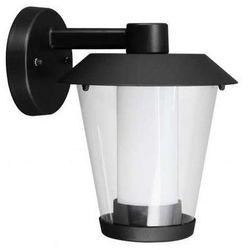 Zewnętrzna LAMPA ścienna PATERNO 94215 Eglo aluminiowa OPRAWA ogrodowa LED IP44 outdoor czarna