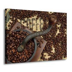 Satry młynek do kawy - Obraz na płótnie