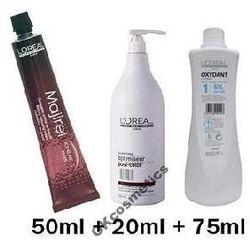 LOREAL ZESTAW farba MAJIREL + oxydant + szampon