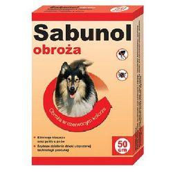 DR SEIDEL Sabunol - obroża przeciw pchłom i kleszczom dla psa czerwona 75cm