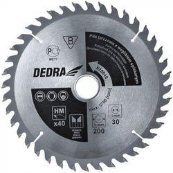 Tarcza do cięcia DEDRA H17040E 170 x 16 mm do drewna HM