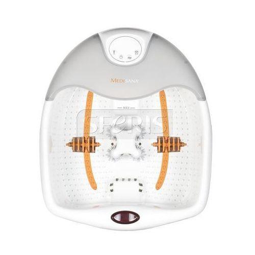 Masażer do stóp Medisana FS885 (masaż wibracyjny, masaż czerwonym światłem, cyfrowy wyświetlacz czasu i temperatury) - 88378