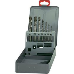 Zestaw gwintowników maszynowych Exact HSSG 2380 DIN 371, 7 szt.