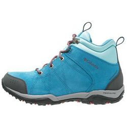 Columbia FIRE VENTURE WATERPROOF Buty trekkingowe oxide blue/spicy